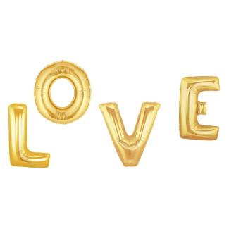 Balony napis LOVE 100cm