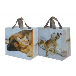 Torba Animals PIES I KOT 35x20x35cm